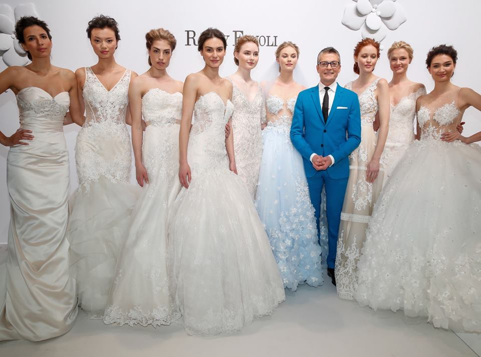 d5de7fb8826 Randy Fenoli and his wedding dress empire that changed brides forever. ""